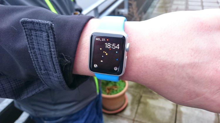 Die Apple Watch zum webmontag