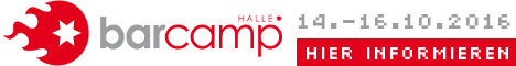 Barcamp Halle: Digitale Stadt – Smart City | 15.10.2016