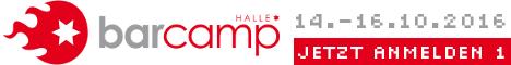 Barcamp Halle: Digitale Stadt – Smart City | 15.10.2016